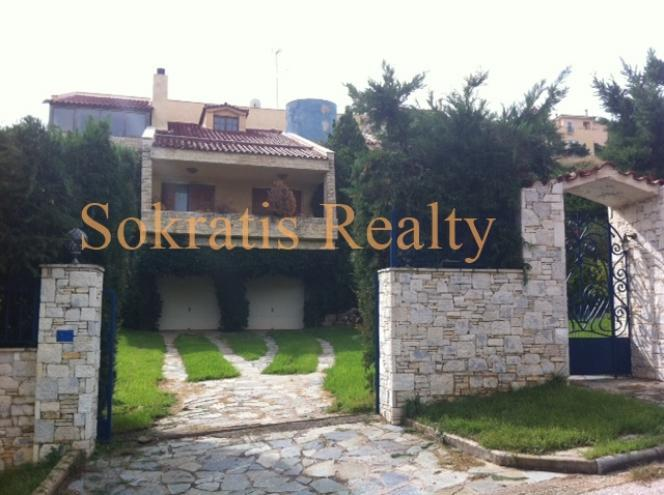 Private luxury Villa, 300 sq.m. Ntrafi Athens Greece