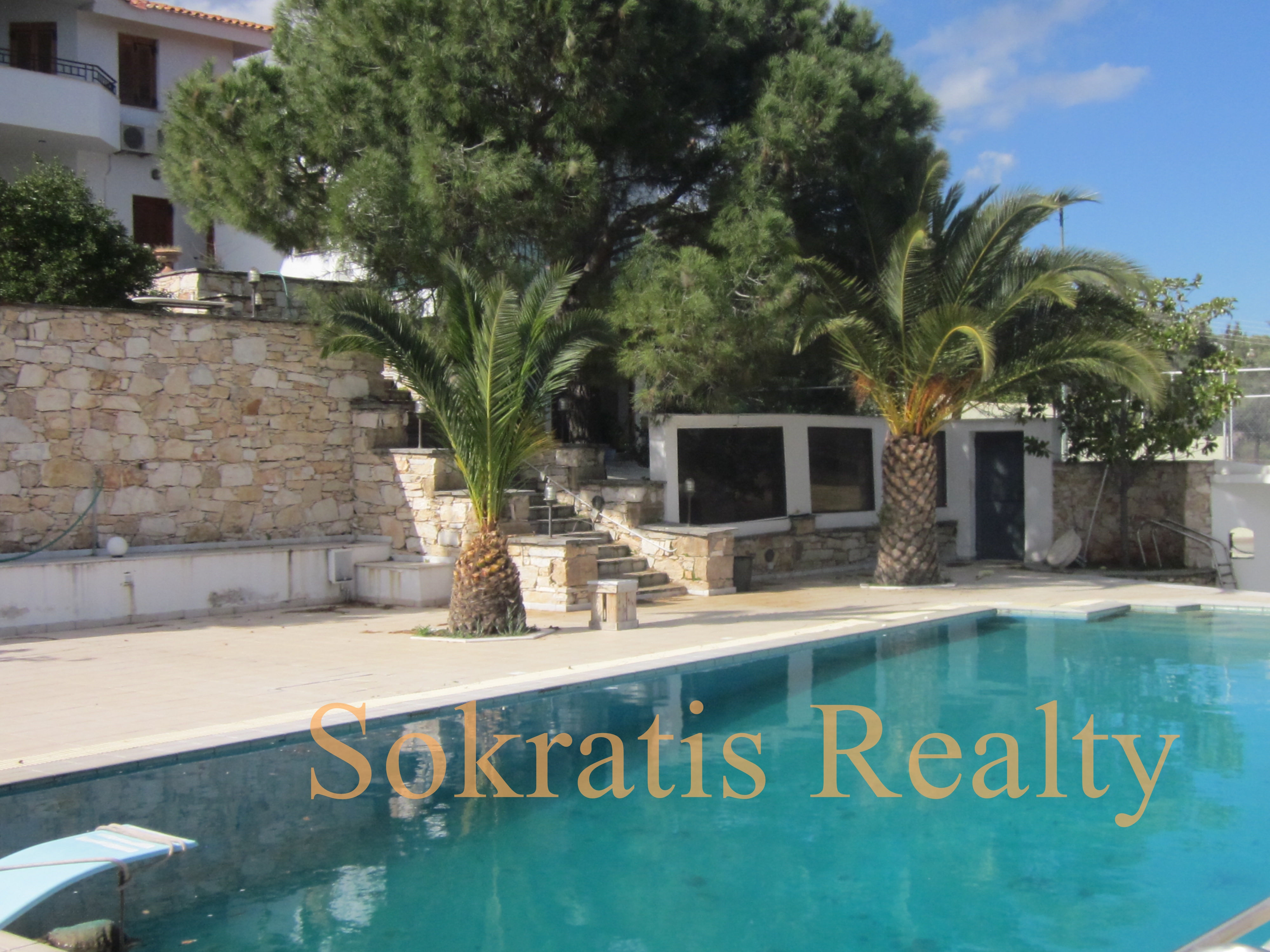 Private luxury Villa, 508 sq.m. Paiania Athens Greece